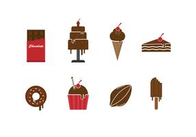 Free Set of Chocolate Icons