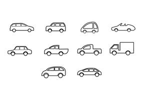 Free car icon vector