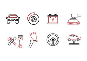 Garage Icon Set
