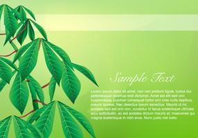 Cassava Background Vector