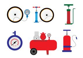 Air Pump Vector set