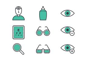 Eye Doctor Linear Icon
