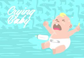 Crying Baby Background