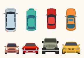 Flat Car Vector Collection