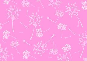 Blowball Pattern Free Vector
