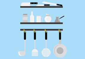 Stainless Steel Kitchen Tool Vectors