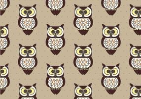 Coruja Pattern Background