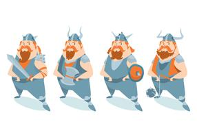 Viking Character Vector Set