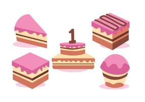 Birthday Vector Set