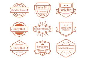 Early Bird Line Label