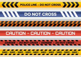 Free Police Line Vectors