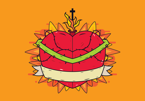 Free Sacred Heart Vector
