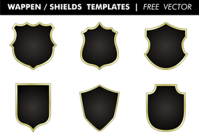 Wappen & Shields Templates Free Vector