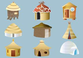 Set of Cabana and Shack Vectors