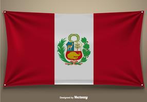 Peru Vector Flag