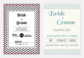 Cool Modern Wedding Invitations