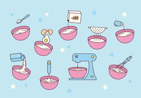 Free Mixing Bowl Vector