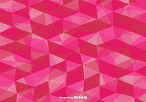 Vector Pink Polygonal Background