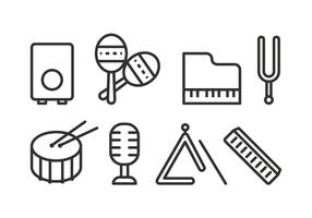 Free Music Instrument Icons