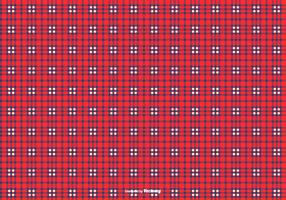 Blue/Red Flannel Pattern Background