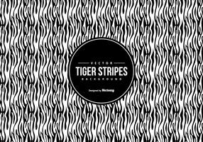 Black/White Tiger Pattern Background