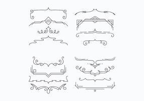 Brackets For Decoration Vectors