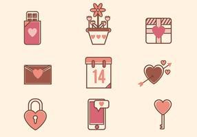 Flat Valentine Vectors