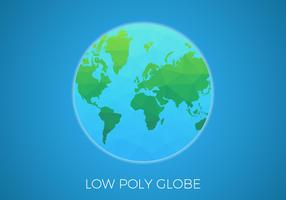 Free Low Poly Background Globe Vector