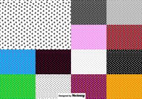 Vector Set Of Heart Seamless Pattern