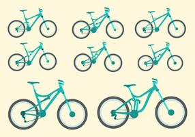 Free Bike Vector Collection