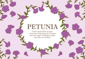 Petunia Plant Vector