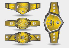 Gold Championship Belt