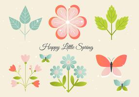Free Floral Greeting Vector Elements