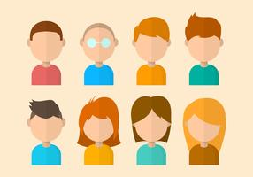 Free Personas Vector Collection