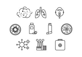 Free Asthma Icon Vector