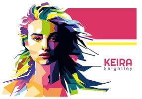 Keira Knightley Vector WPAP