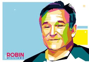 Robin Williams Vector WPAP