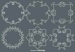 Vector Line Style Monograms