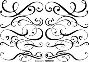 Ornamental Dividers Vector