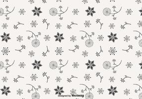 Blowball Doodle Vector Seamless Pattern