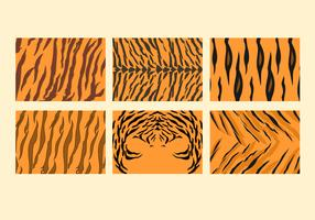 Free Tiger Stripe Pattern Vectors
