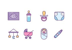 Baby and Maternity Icons
