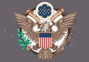 Great Seal of the United States Vector