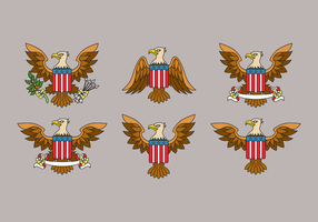 Eagle Seal USA Vector