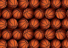 Vector Basketball Texture