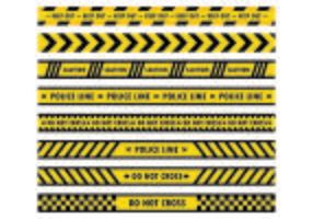 Danger Tape Vectors
