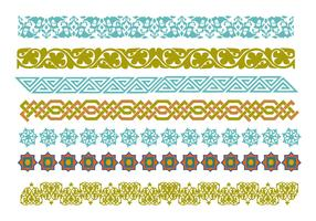 Free Decorative Islamic Ornaments Vector