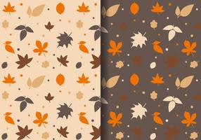 Free Autumn Leaves Pattern
