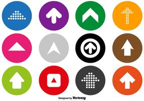 Arrow Icons Vector Set
