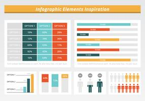 Free Flat Infographic Vector Elements